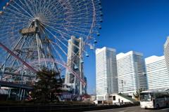 ぶらっと、初冬の横浜・みなとみらい