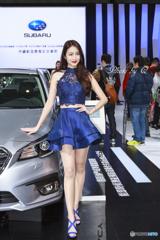 TAIPEI AUTO SHOW SUBARU SHOW GIRL