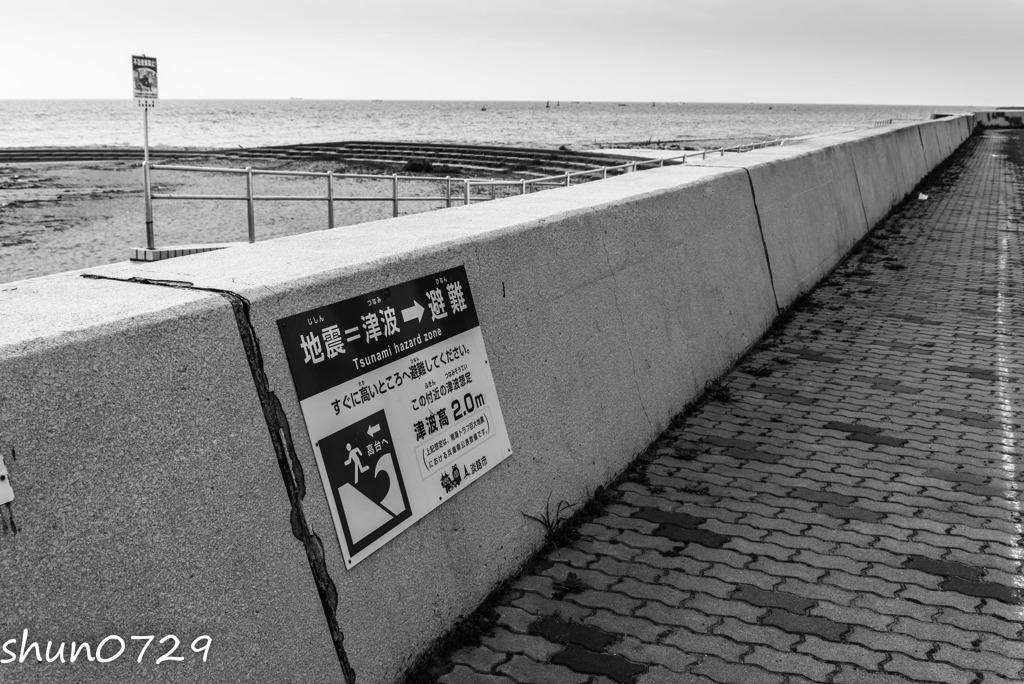 海辺の情景-5