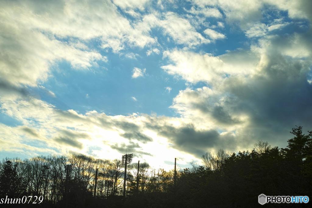 今日の空4