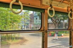 昭和レトロ(車窓)