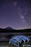 西湖の星空