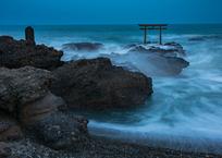 波が似合う場所