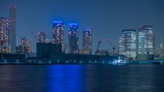 東京新夜景スポット 豊洲ぐるり公園3