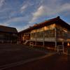 富岡製糸場の夕焼け⑫