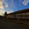 富岡製糸場の夕焼け⑥