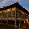 富岡製糸場の夕焼け⑩