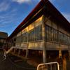 富岡製糸場の夕焼け⑧