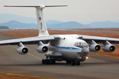 ロシア空軍 IL76