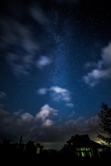 室根山の星空✨