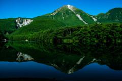 大正池からの眺め