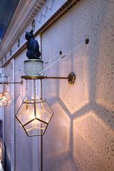 猫のランプ