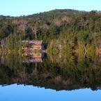 朝の白駒池