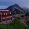 燕岳と燕山荘