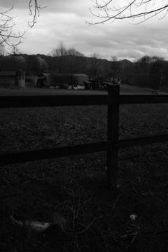 イギリスの片田舎にて