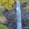 色づく玉簾の滝