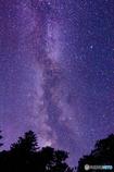 銀河は滝のように