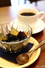 コーヒー屋さんのコーヒーゼリー
