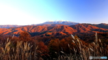 飛騨御岳夕景