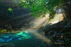 円原川の光芒伍