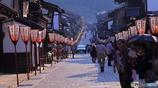 おわら風の盆 (諏訪町 日本の道百選通り)
