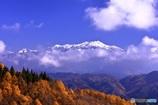 鈴蘭高原からの乗鞍岳