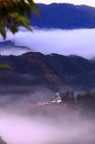 天空の郡上八幡城
