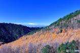 山岳道路からの景観