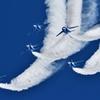 Blue Impulseの展示飛行