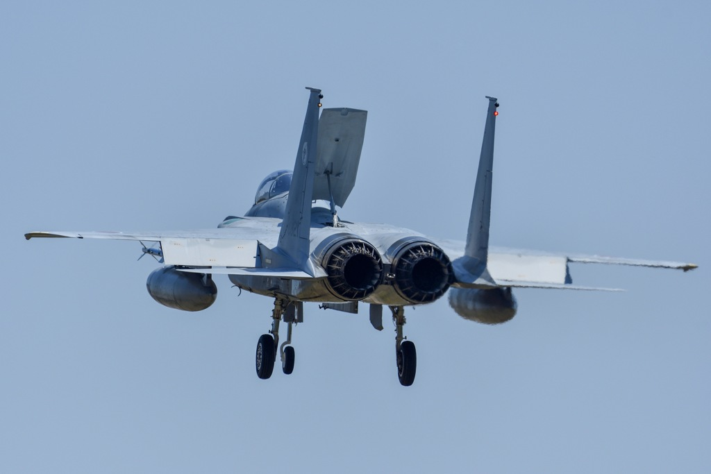F-15の帰投2