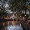 運河の街 夕暮れ2