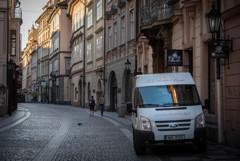 プラハ~朝の情景38