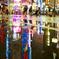 歌舞伎町の水溜り