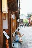 夏の茶屋街
