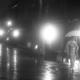 夜霧の茶屋街