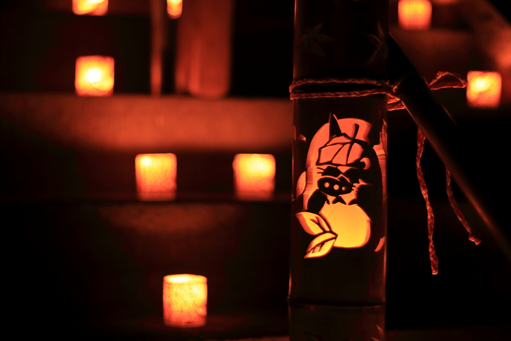 長田萬燈祭 トトロ