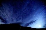 白山の星空