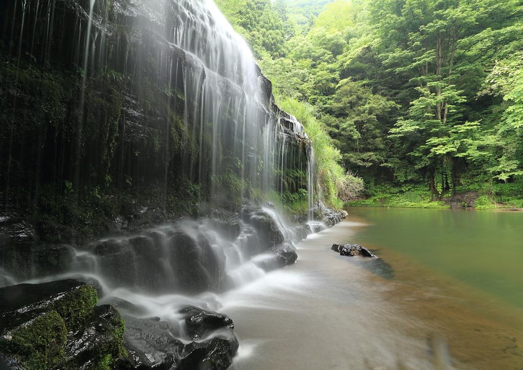 小さなナイアガラの滝