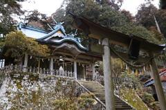 熊野三山の奥の宮 玉置神社