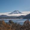 初冬の本栖湖