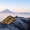 観音岳から富士山