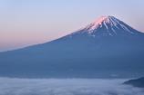 紅富士と雲海