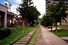 街中の廃線・・・
