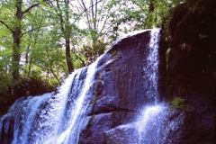 MXで撮る鱒見の滝・・・