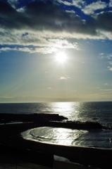 厚田の浜で・・・