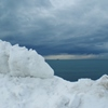 除雪の雪山から・・・