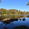 秋の矢筈池