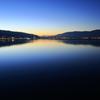 諏訪湖 ブルーモーメント