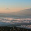陽のあたる雲海