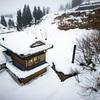 山古志、雪に沈む集落